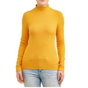 No Boundaries Juniors Mockneck Long sleeve shirt